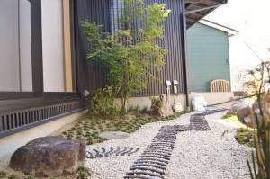 愛知県坪庭工事